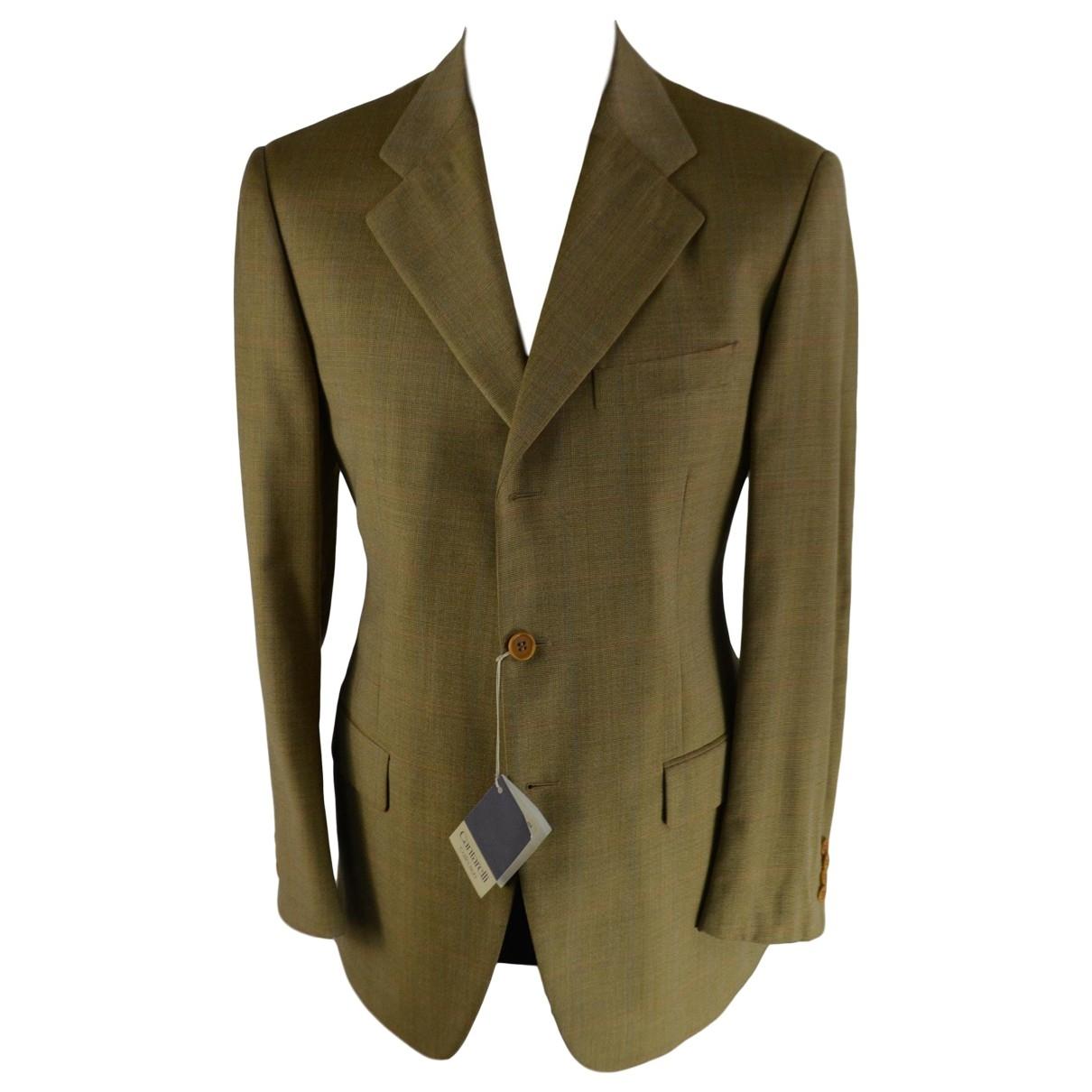 Cantarelli - Vestes.Blousons   pour homme en laine - marron