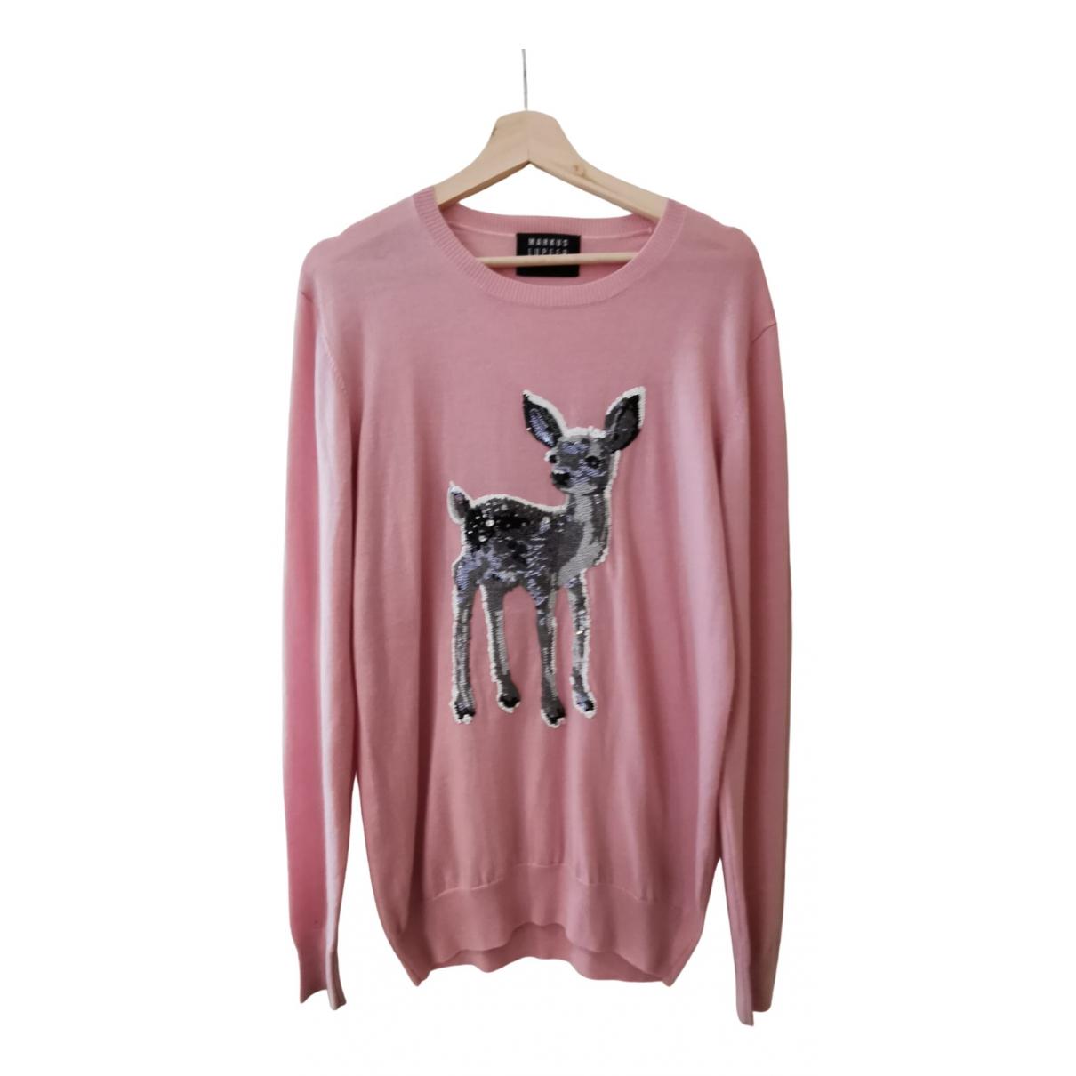 Markus Lupfer \N Pink Wool Knitwear for Women S International