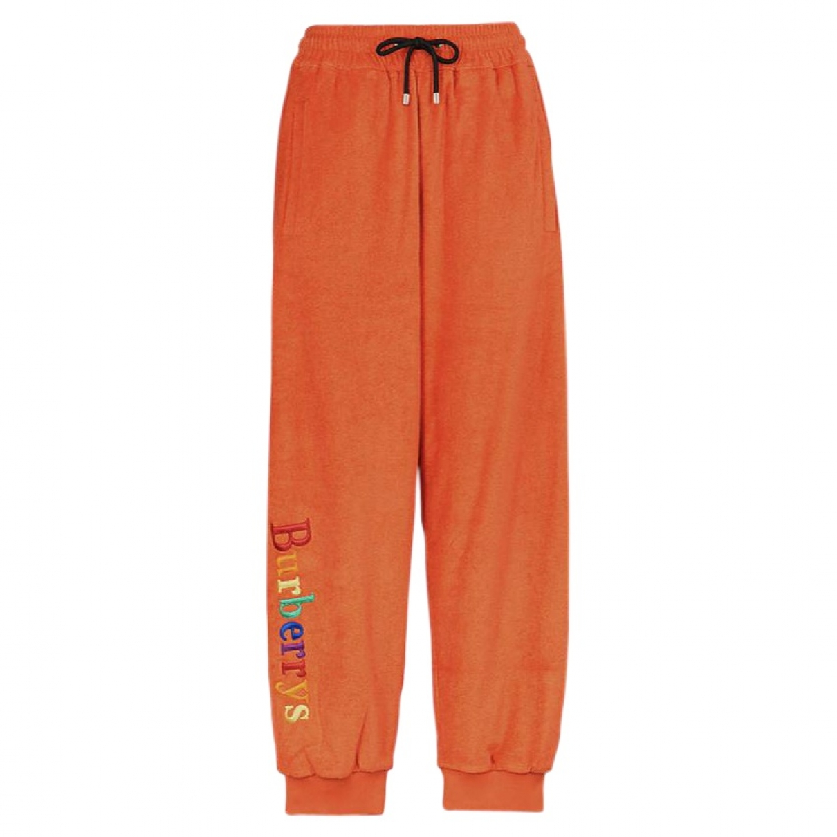 Burberry \N Orange Trousers for Men 30 UK - US