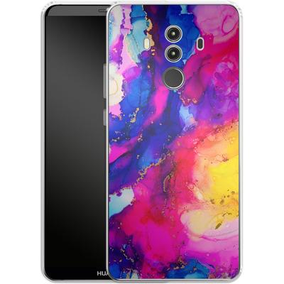 Huawei Mate 10 Pro Silikon Handyhuelle - Cosmic Swirl I von Stella Lightheart