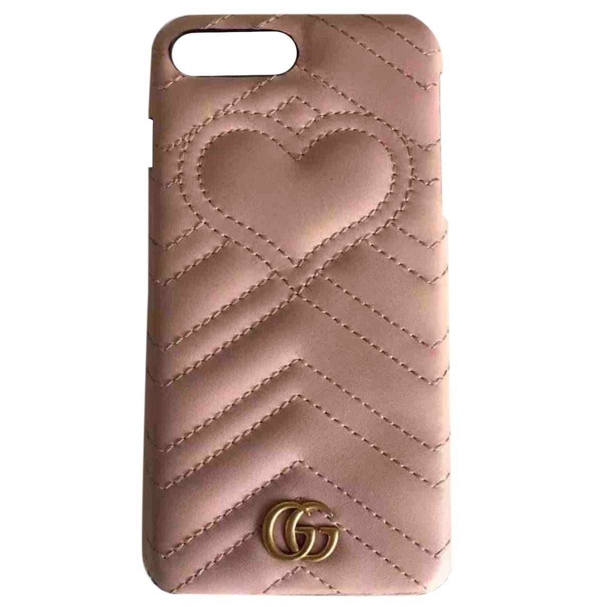 Gucci - Accessoires   pour lifestyle en cuir - rose