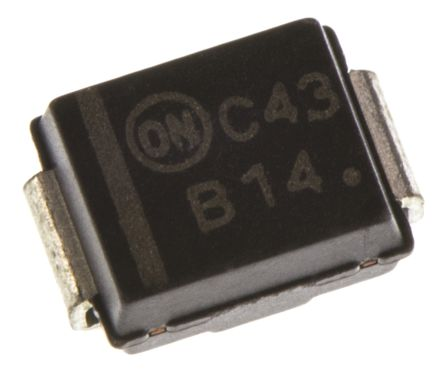 ON Semiconductor ON Semi 40V 1A, Schottky Diode, 2-Pin DO-214AA MBRS140T3G