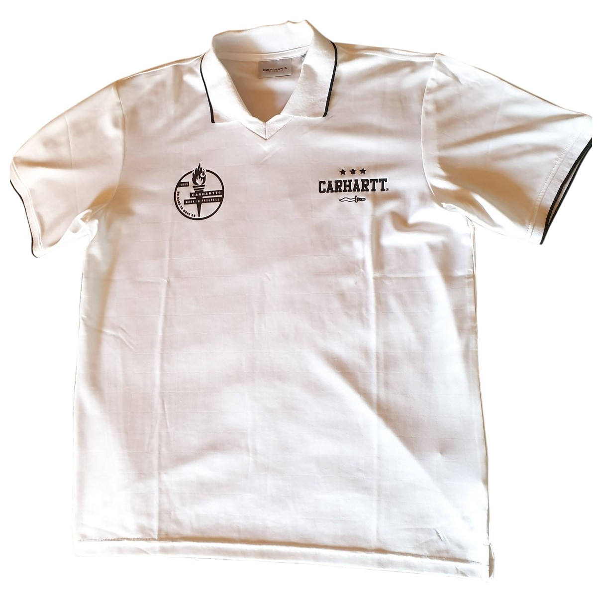 Carhartt Wip - Tee shirts   pour homme - blanc