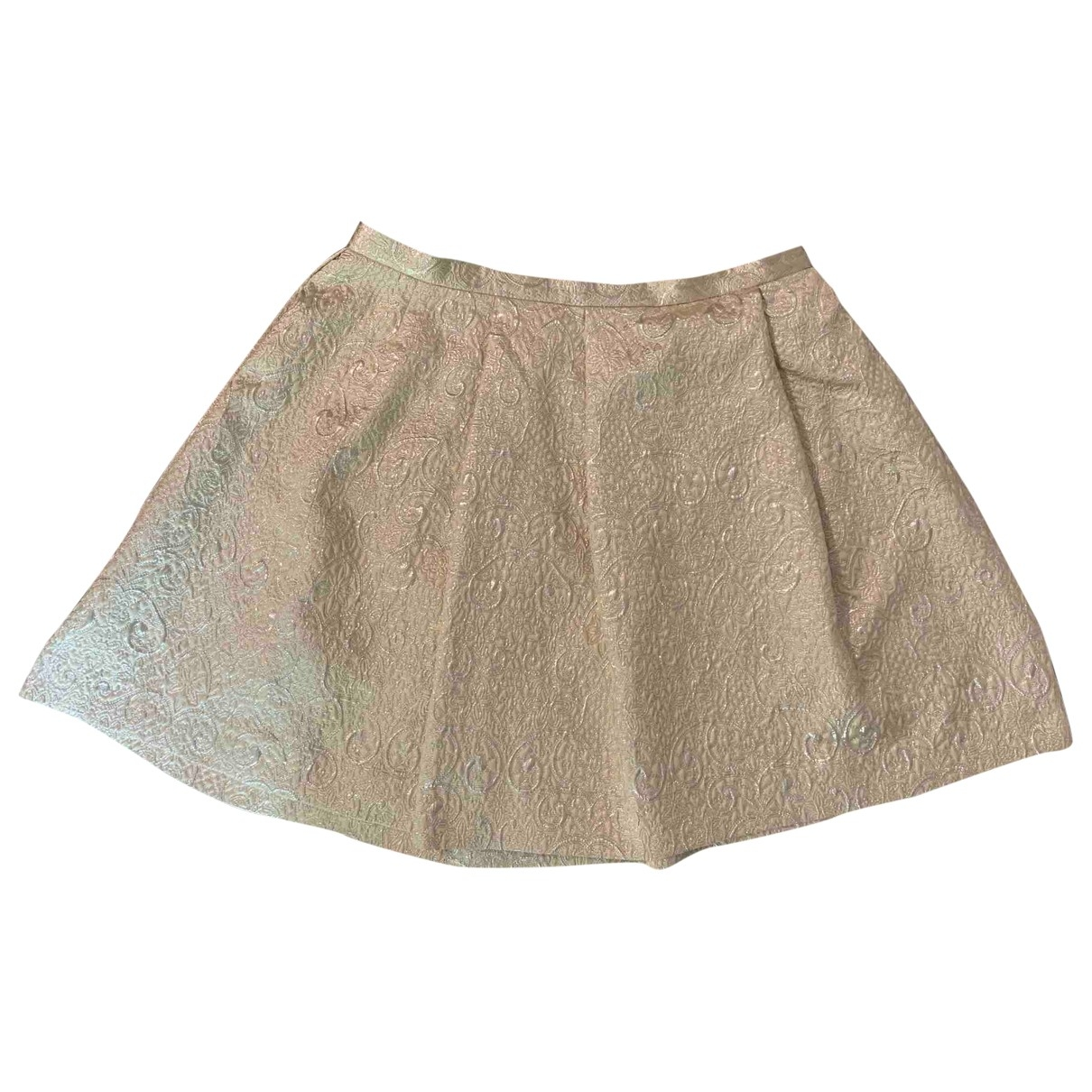 Tara Jarmon \N Rocke in  Gold Polyester