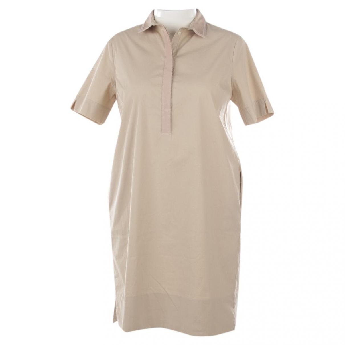 Autre Marque - Robe   pour femme en coton - beige