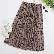 Faldas Extra Grande todo estampado Multicolor Casual