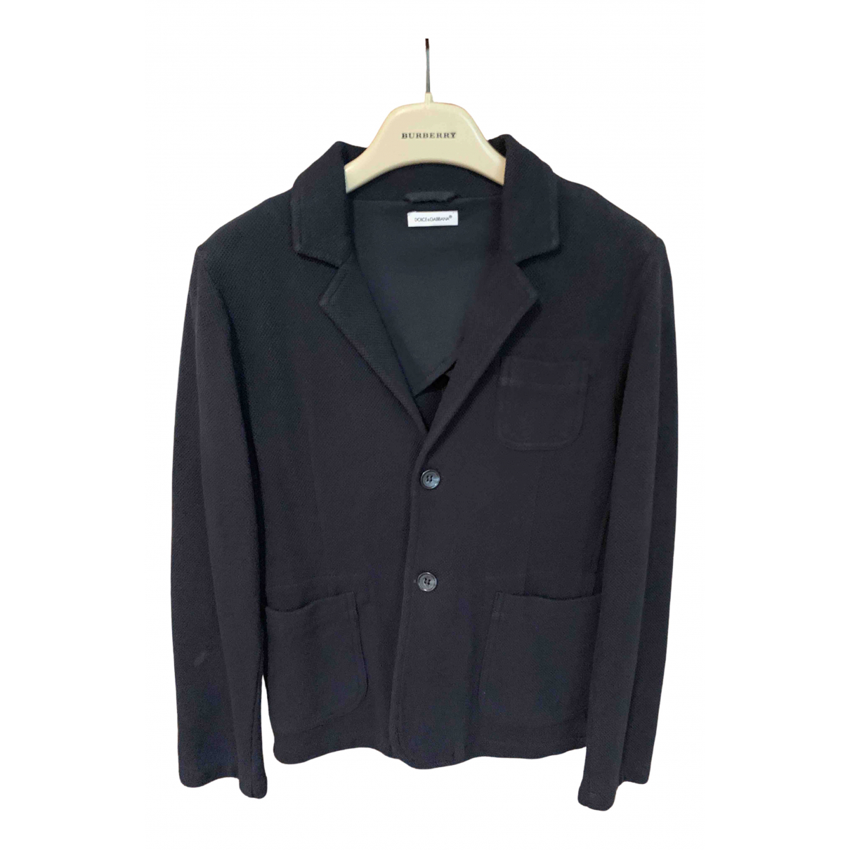 Dolce & Gabbana N Blue Cotton jacket & coat for Kids 8 years - up to 128cm FR