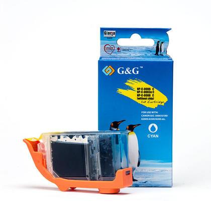 Canon BCI-3eC cartouche d'encre compatible cyan - G&G™