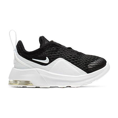 Nike Air Max Motion 2 Slip-on Running Shoes - Toddler Boys, 5 Medium, Black