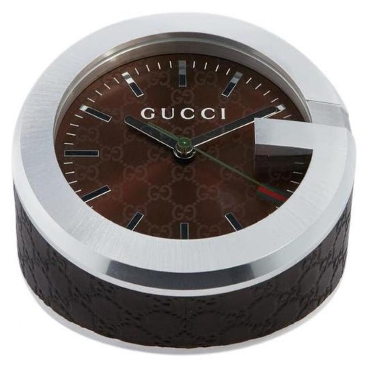 Gucci - Objets & Deco   pour lifestyle en cuir - marron