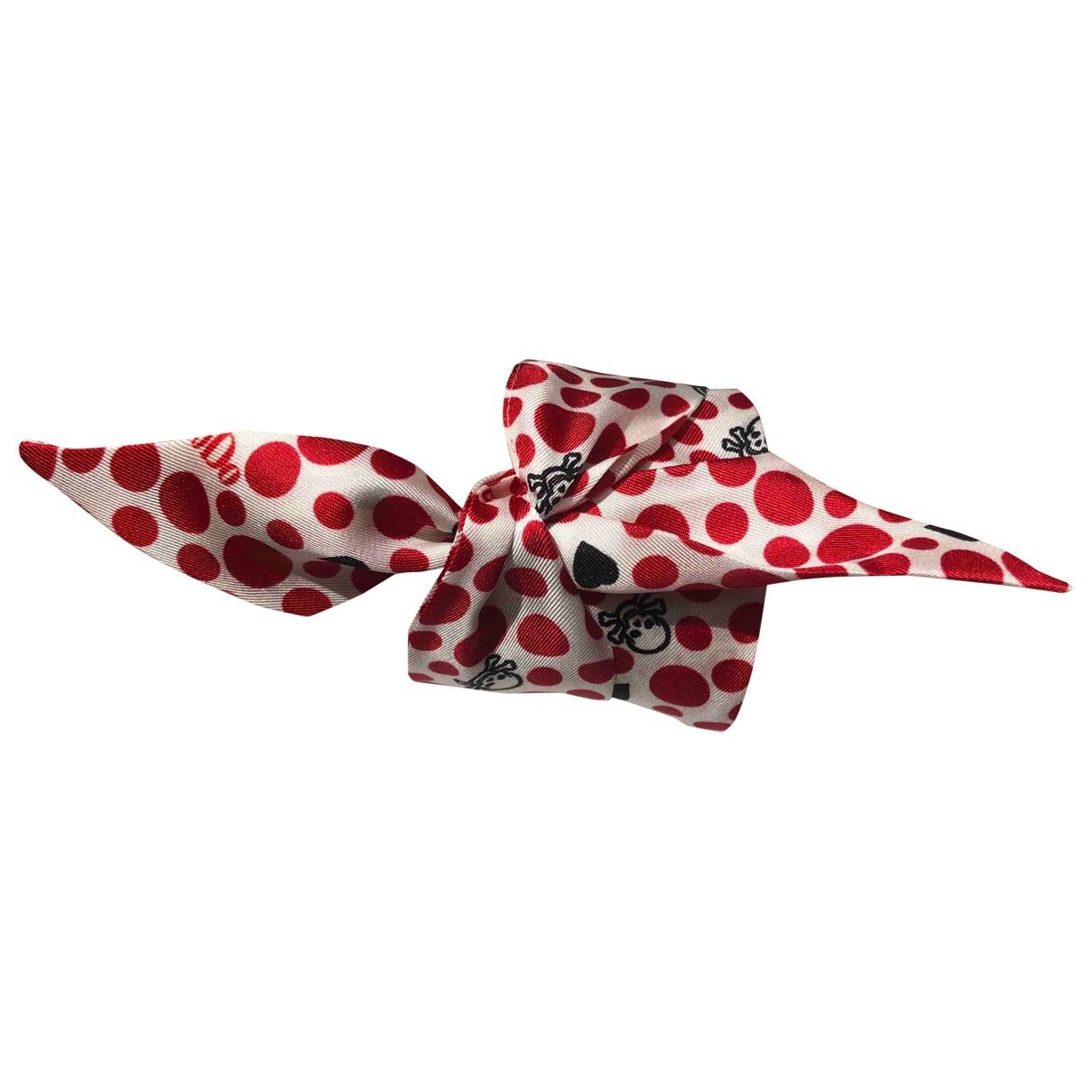 Dodo Pomellato \N Schal in  Rot Seide