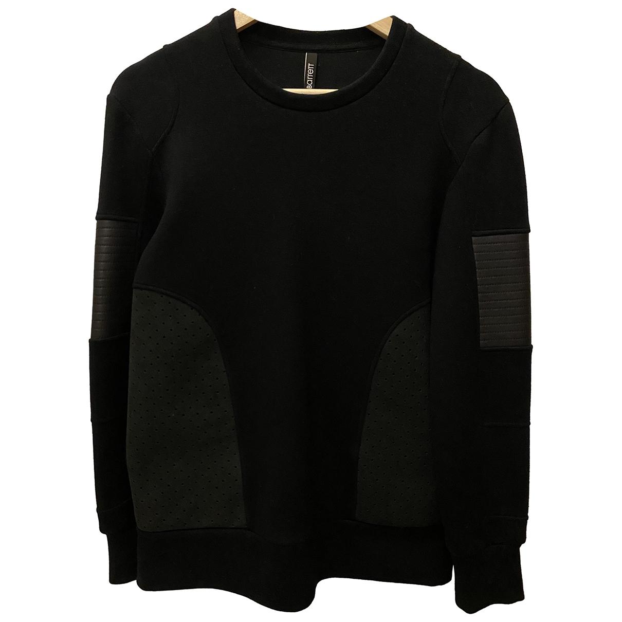 Neil Barrett \N Pullover.Westen.Sweatshirts  in  Schwarz Viskose