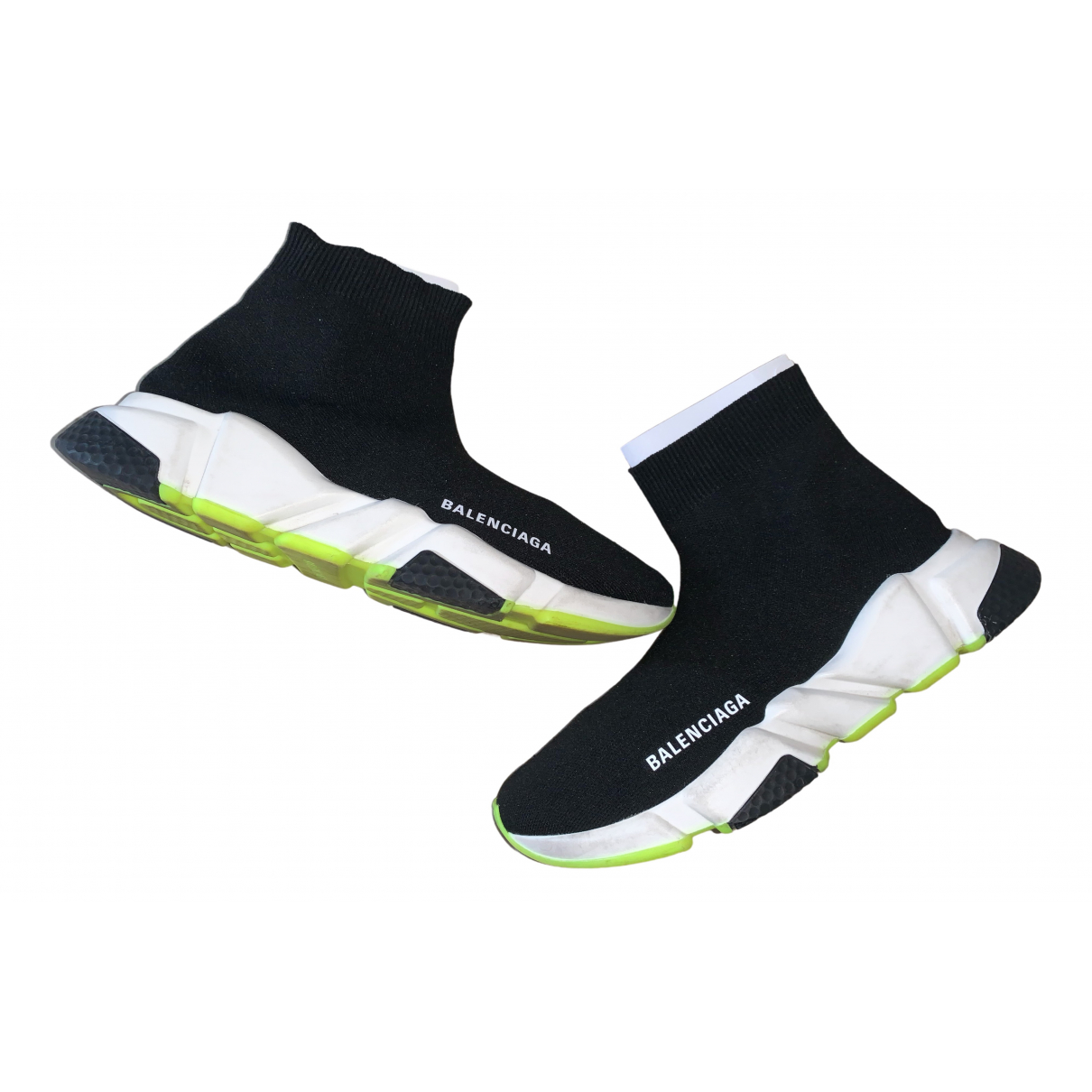 Balenciaga Speed Black Cloth Trainers for Women 39 IT