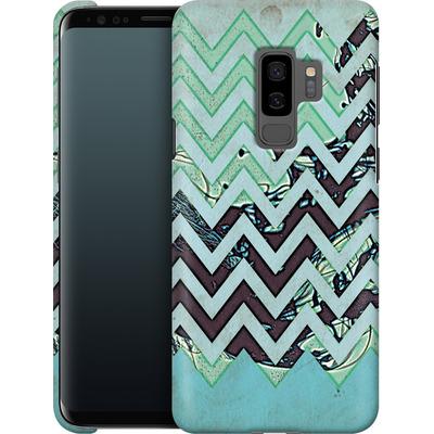 Samsung Galaxy S9 Plus Smartphone Huelle - Electric Ink von caseable Designs