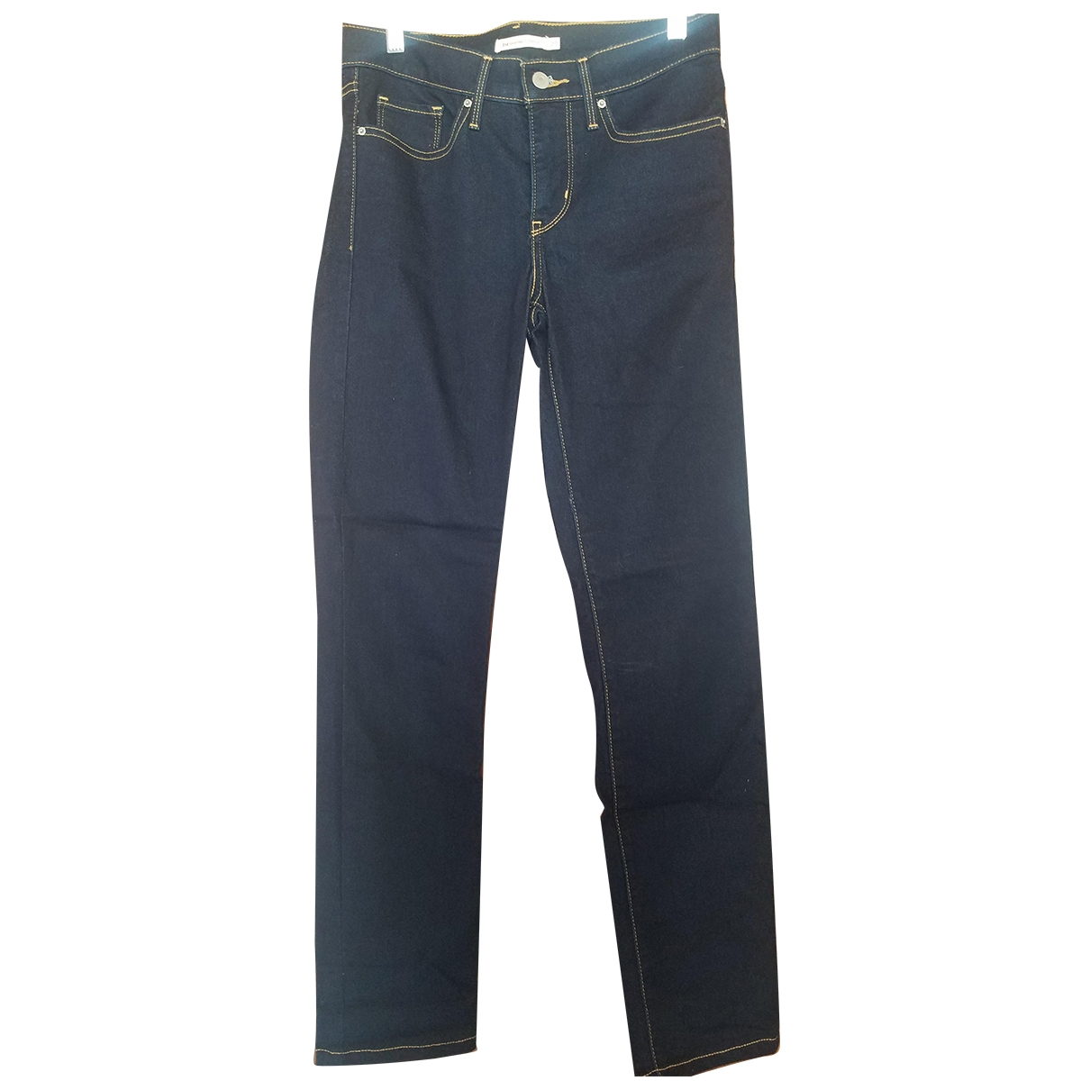 Levi's \N Blue Cotton - elasthane Jeans for Women 27 US