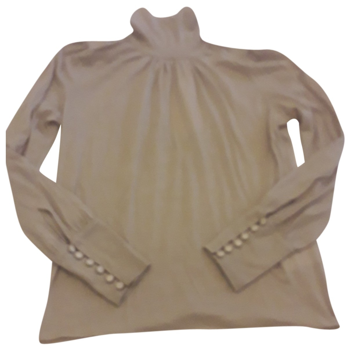 Pinko - Pull   pour femme en laine - beige