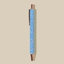 1 Stueck Kugelschreiber mit Pailletten Dekor