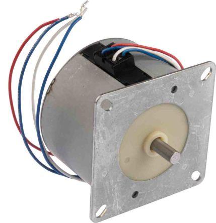 Crouzet 820000 Reversible Synchronous AC Motor, 2.65 W, 2 Phase, 24 Pole, 230 → 240 V ac