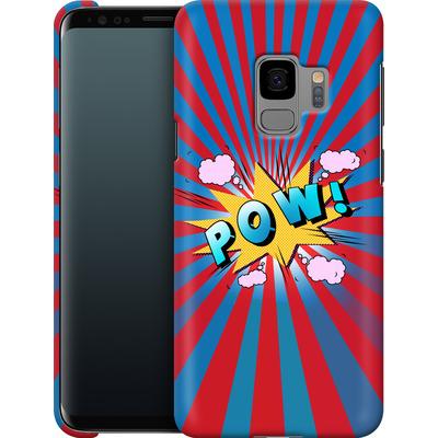 Samsung Galaxy S9 Smartphone Huelle - Pow von Mark Ashkenazi