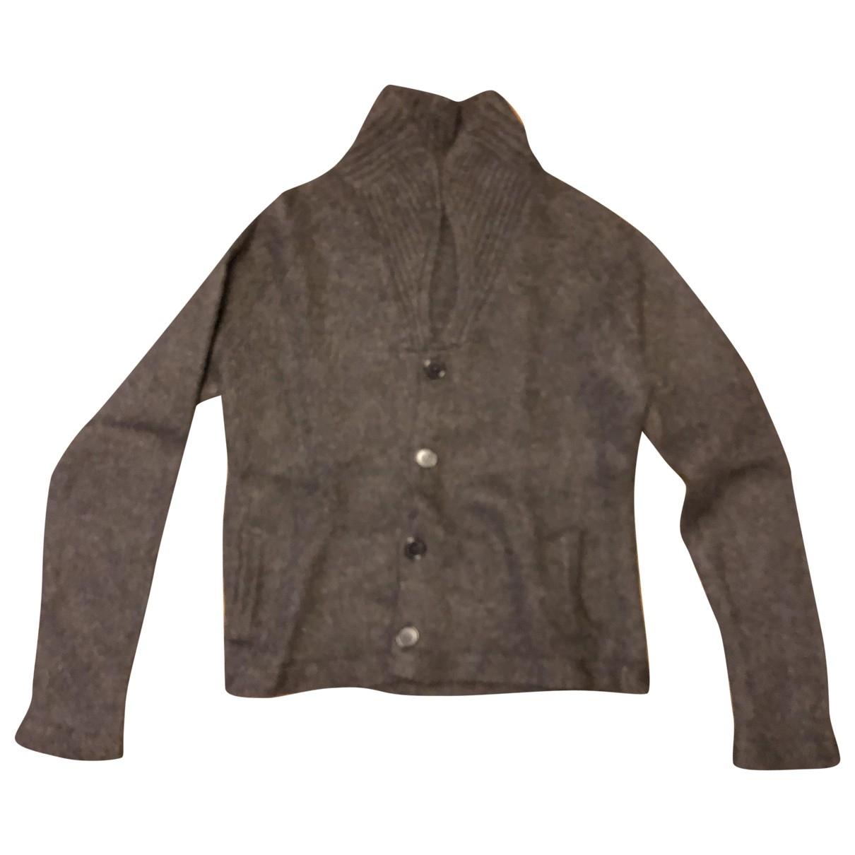 Marni \N Pullover.Westen.Sweatshirts  in  Anthrazit Wolle