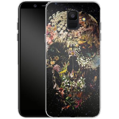 Samsung Galaxy A6 Silikon Handyhuelle - Smyrna Skull von Ali Gulec