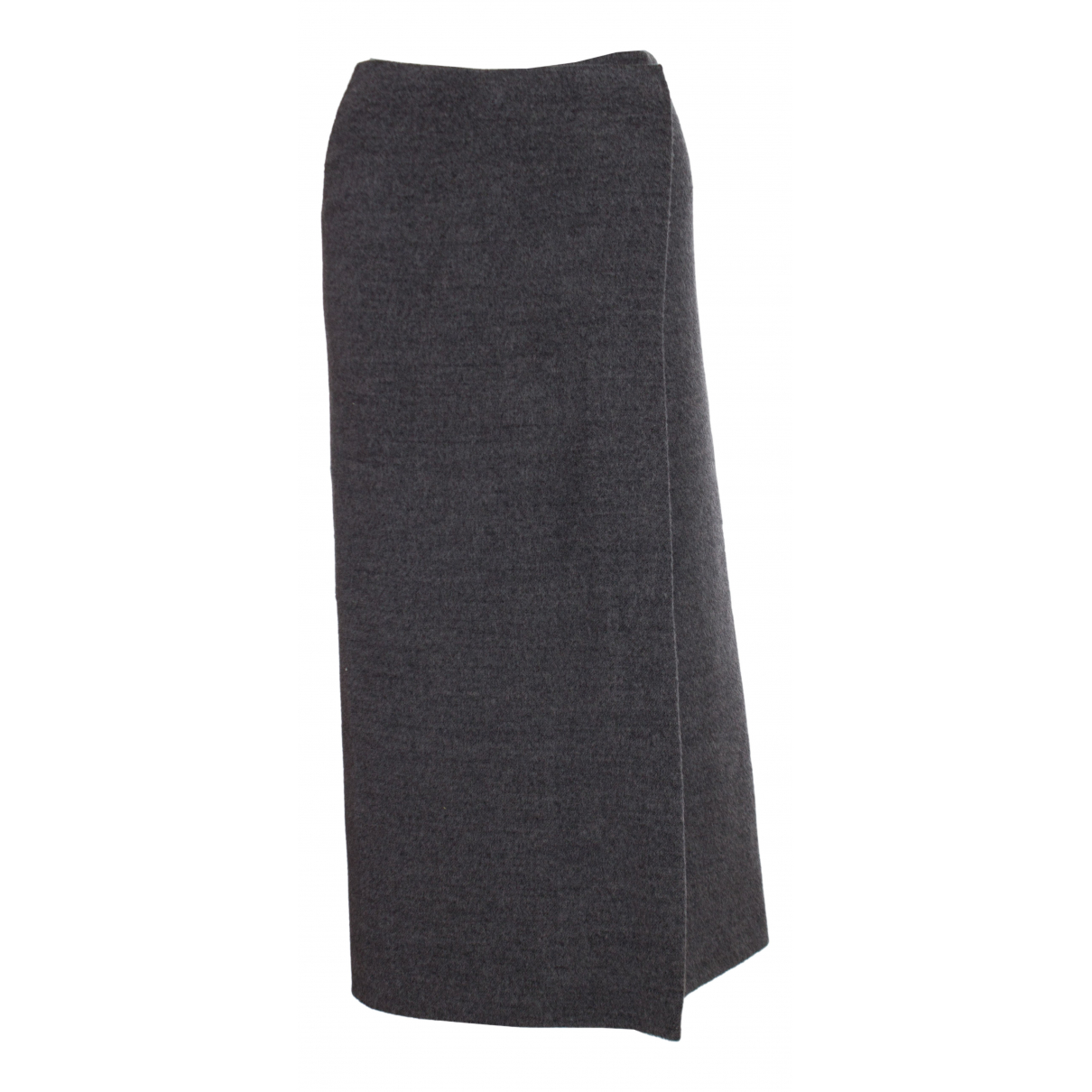 Yohji Yamamoto - Jupe   pour femme en laine - gris