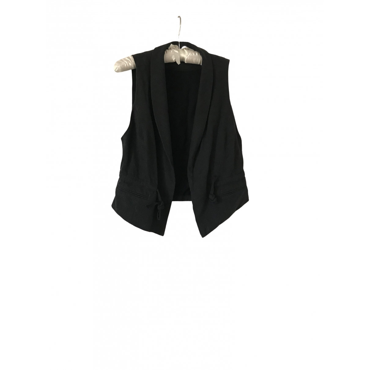 Non Signé / Unsigned \N Anthracite Cotton jacket for Women 0 0-5