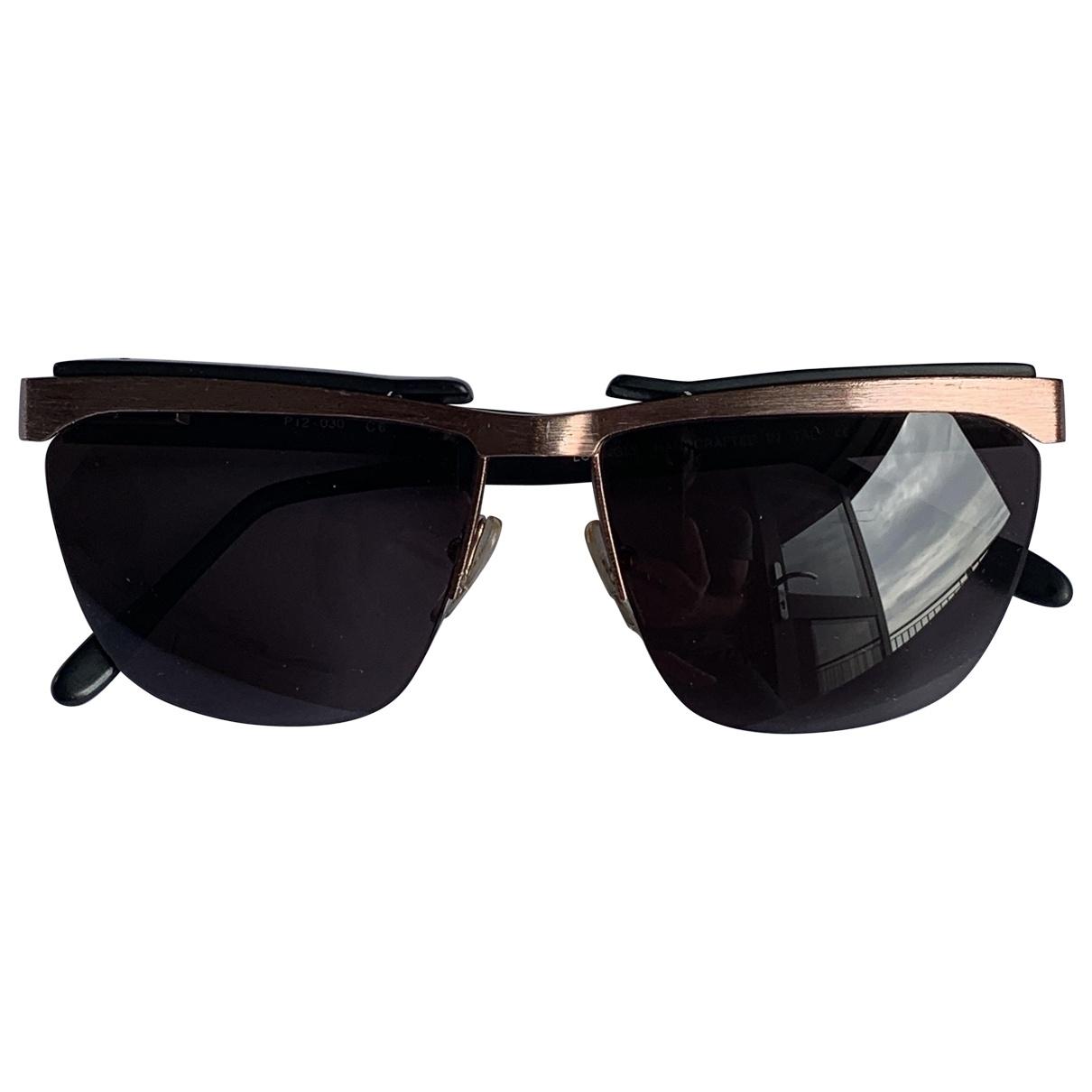 Prism \N Metallic Metal Sunglasses for Men \N