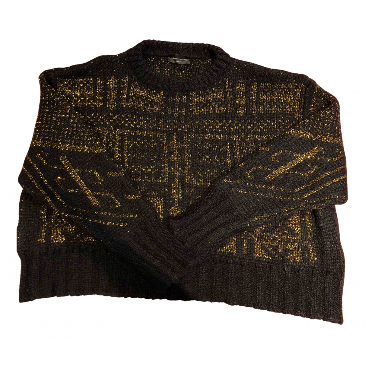 Roberto Collina N Black Wool Knitwear for Women S International