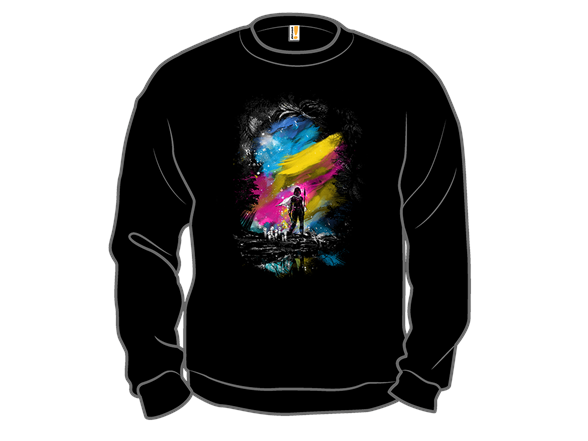 Sunset In The Forest T Shirt