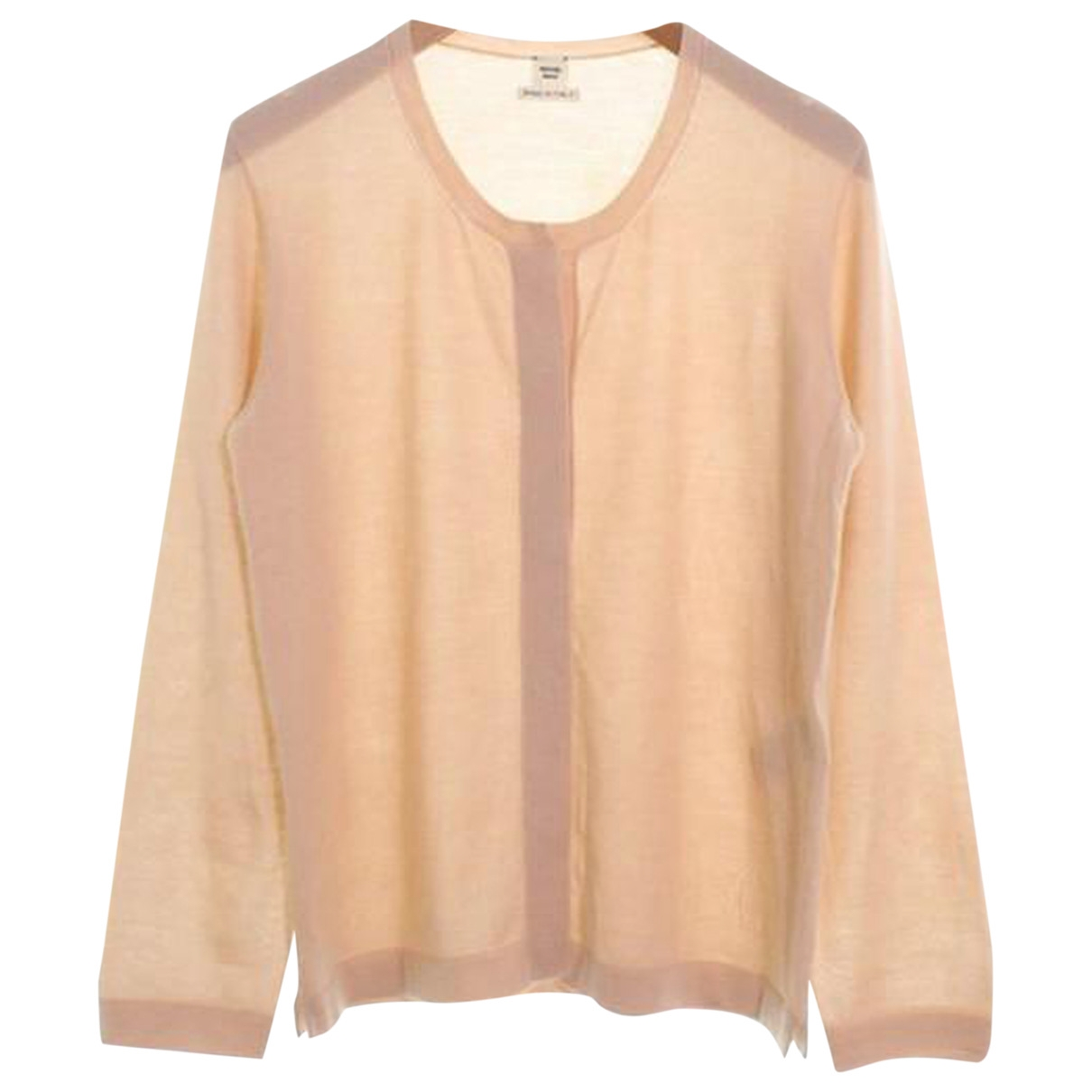 Hermès \N Beige Cashmere Knitwear for Women 38 FR