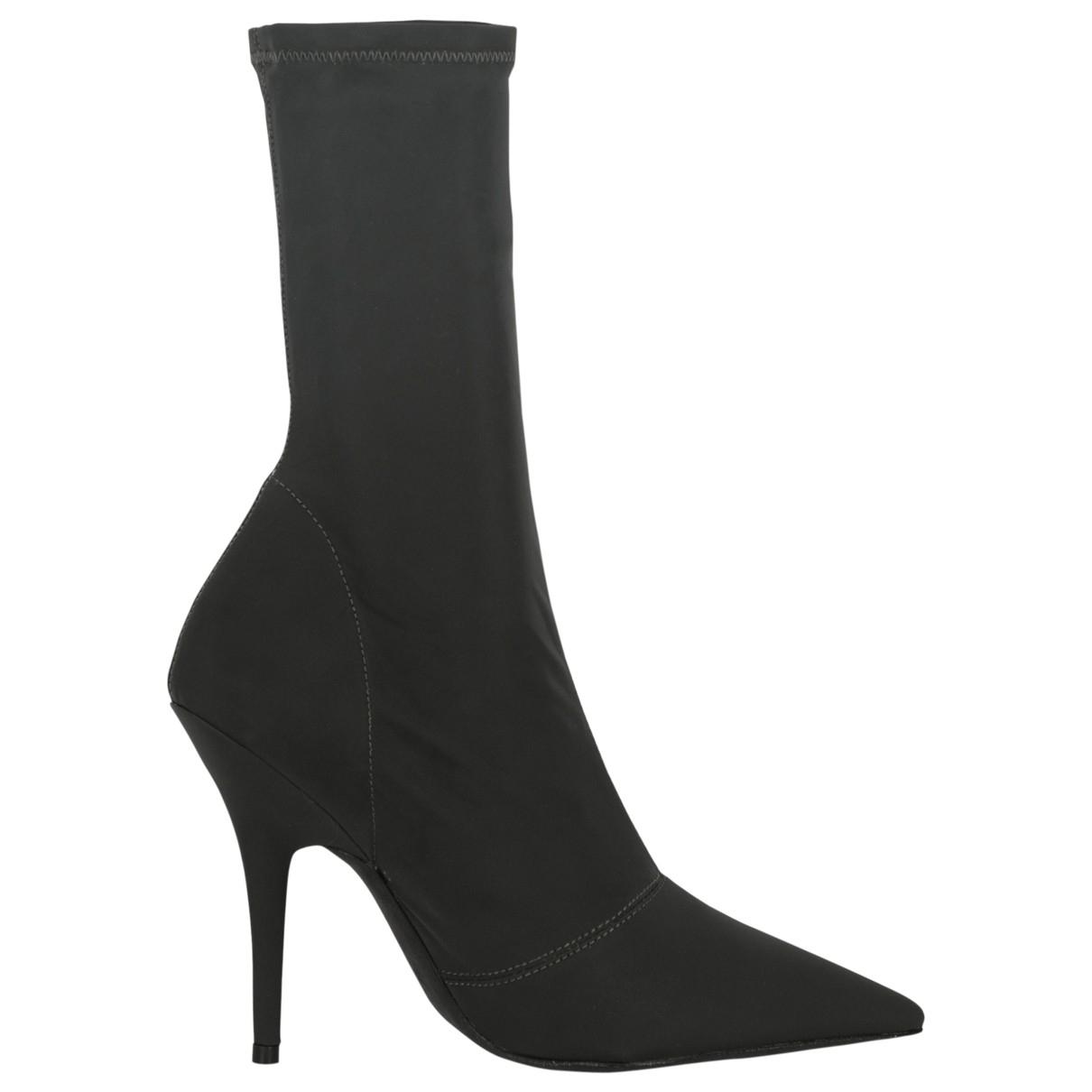 Yeezy - Boots   pour femme - noir