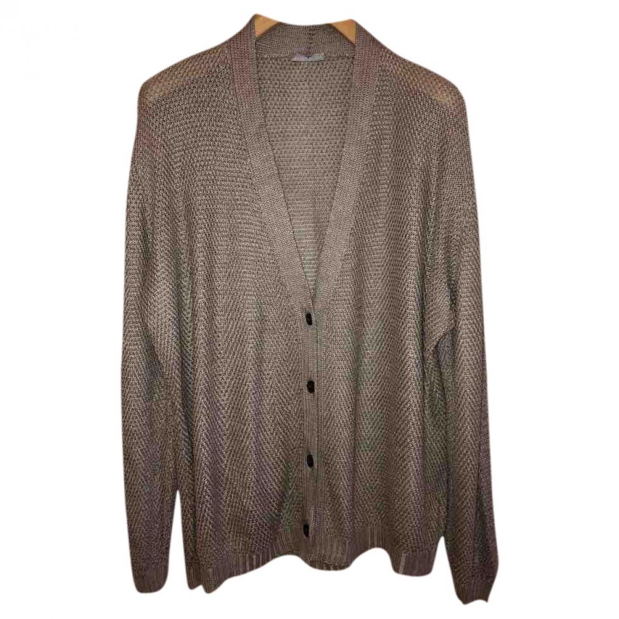 Larusmiani - Pull   pour femme en coton - gris