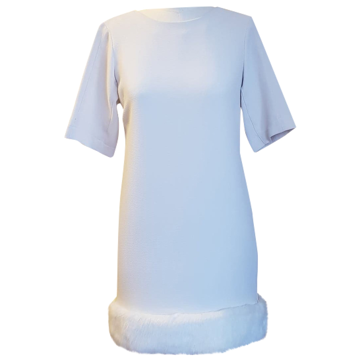 Topshop - Robe   pour femme - ecru