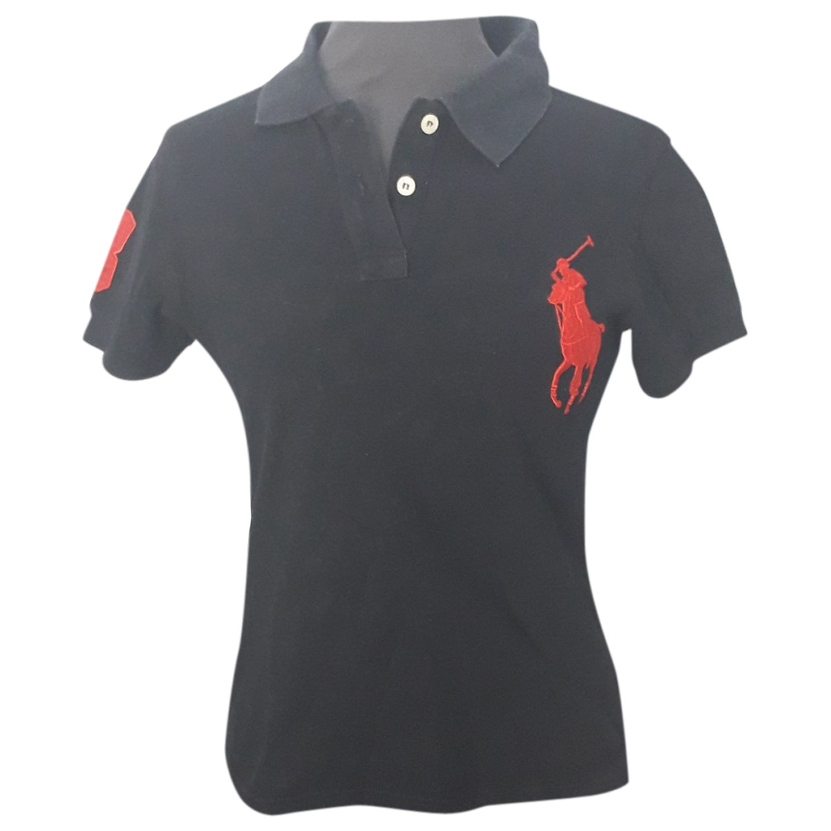 Polo Ralph Lauren \N Top in  Schwarz Baumwolle
