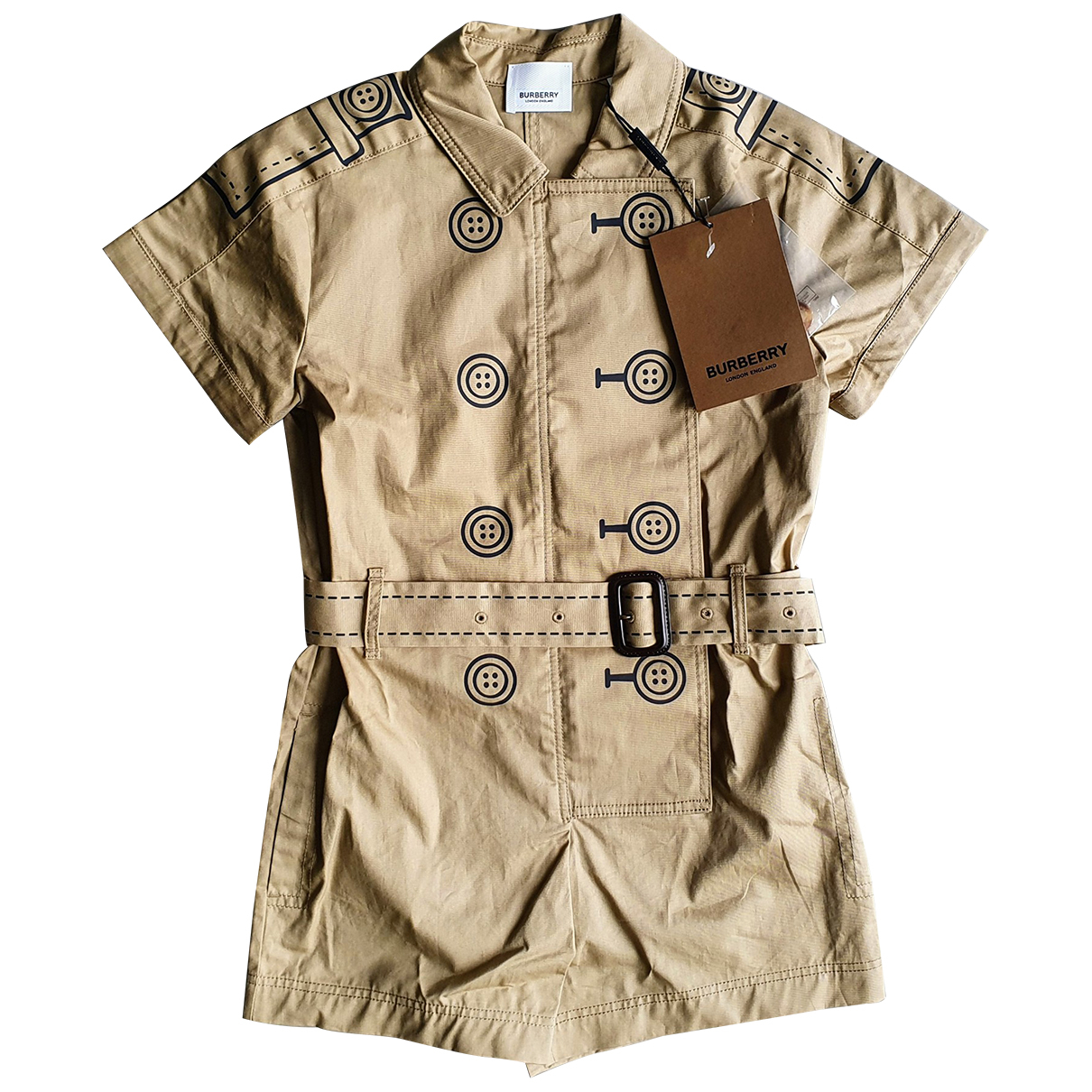 Burberry \N Khaki Cotton Outfits for Kids 10 years - up to 142cm FR