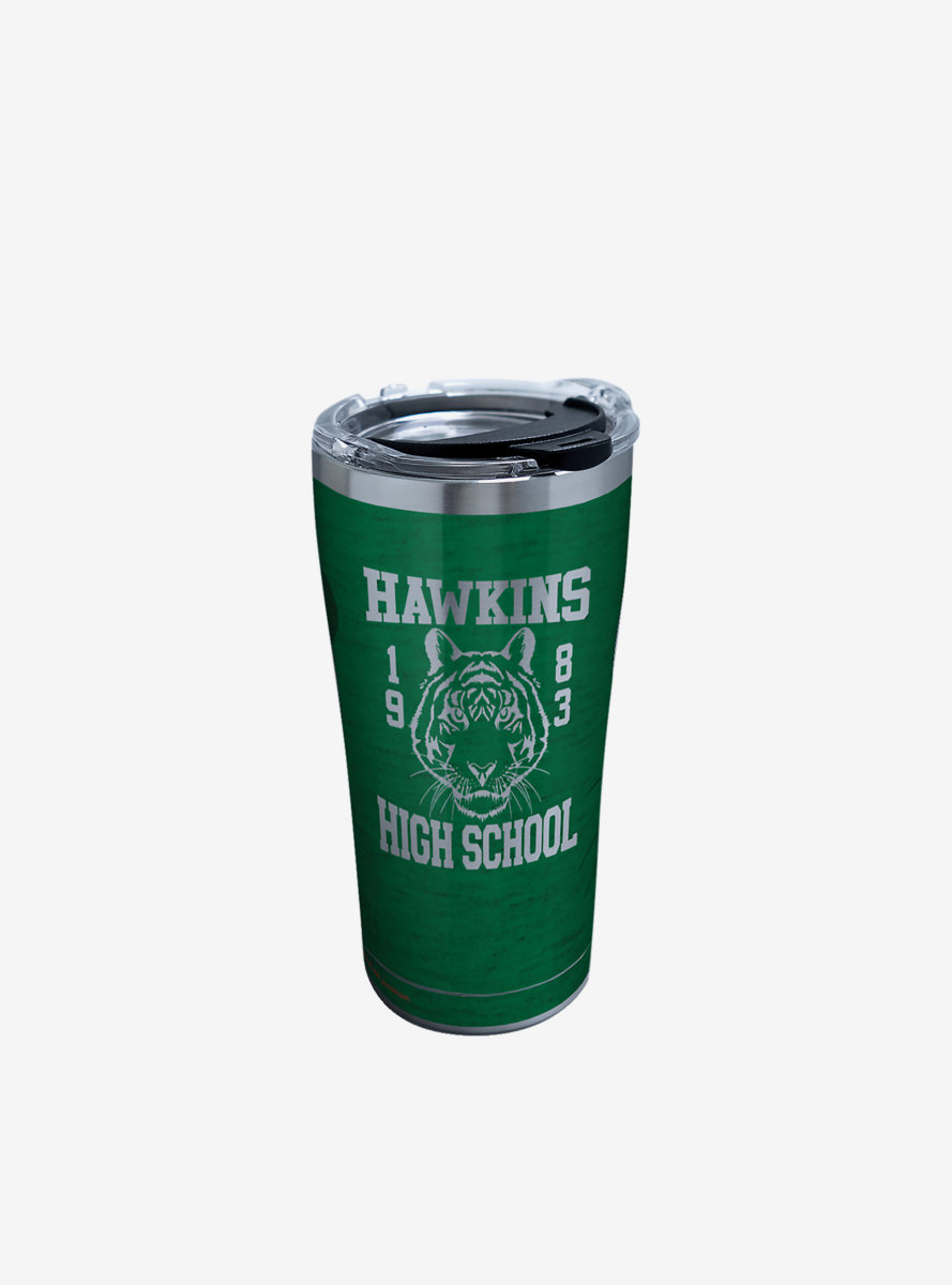 Stranger Things Hawkins High School 20oz Stainless Steel Tumbler With Lid