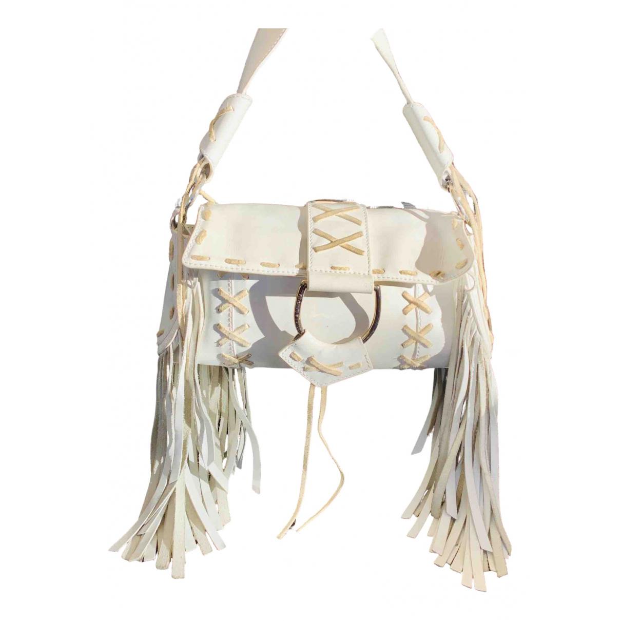 Dolce & Gabbana - Sac a main   pour femme en cuir - blanc
