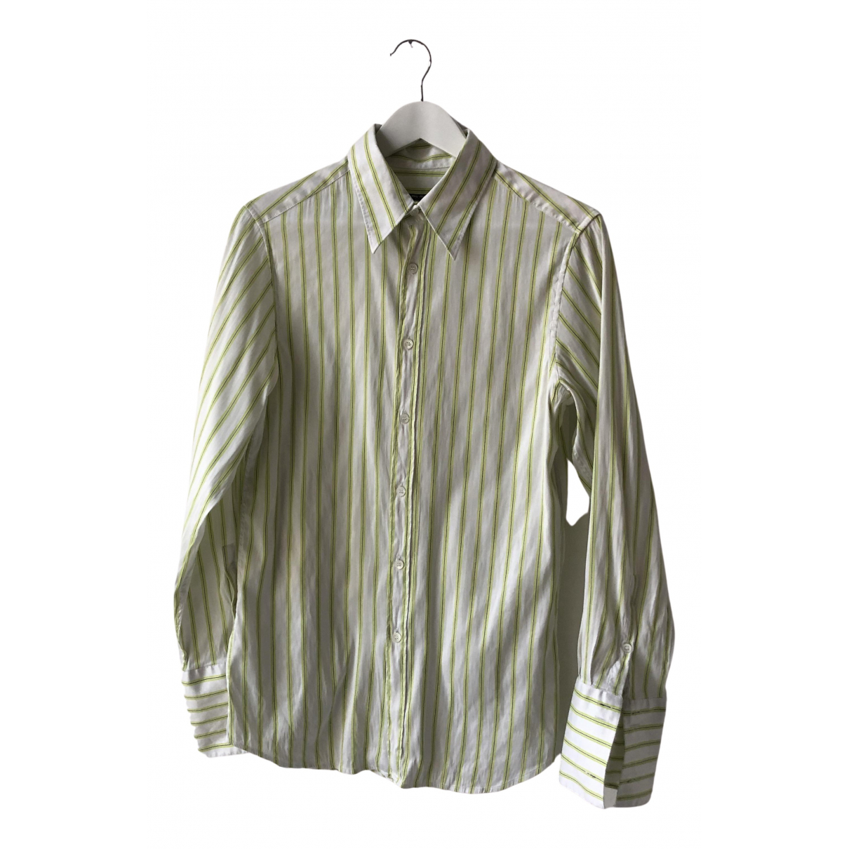 Miu Miu \N Hemden in  Gruen Baumwolle