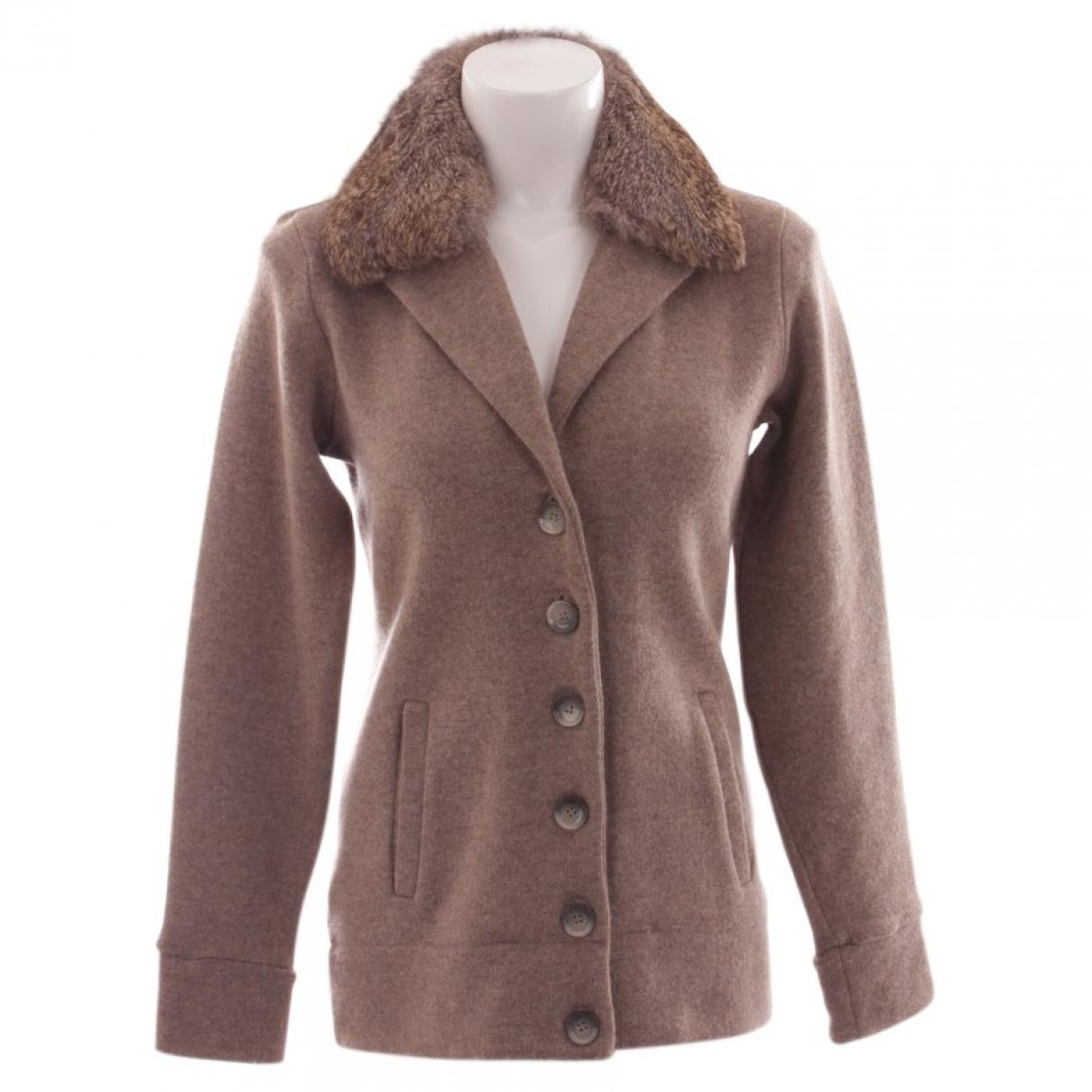 Woolrich \N Pullover in  Beige Leinen