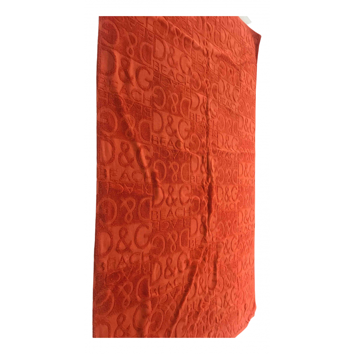 D&g \N Orange Cotton Swimwear for Women 34 FR