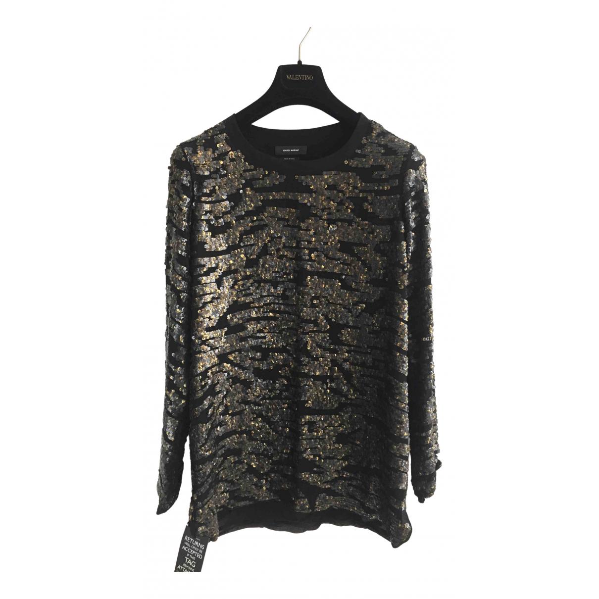 Isabel Marant \N Metallic Silk  top for Women 42 FR