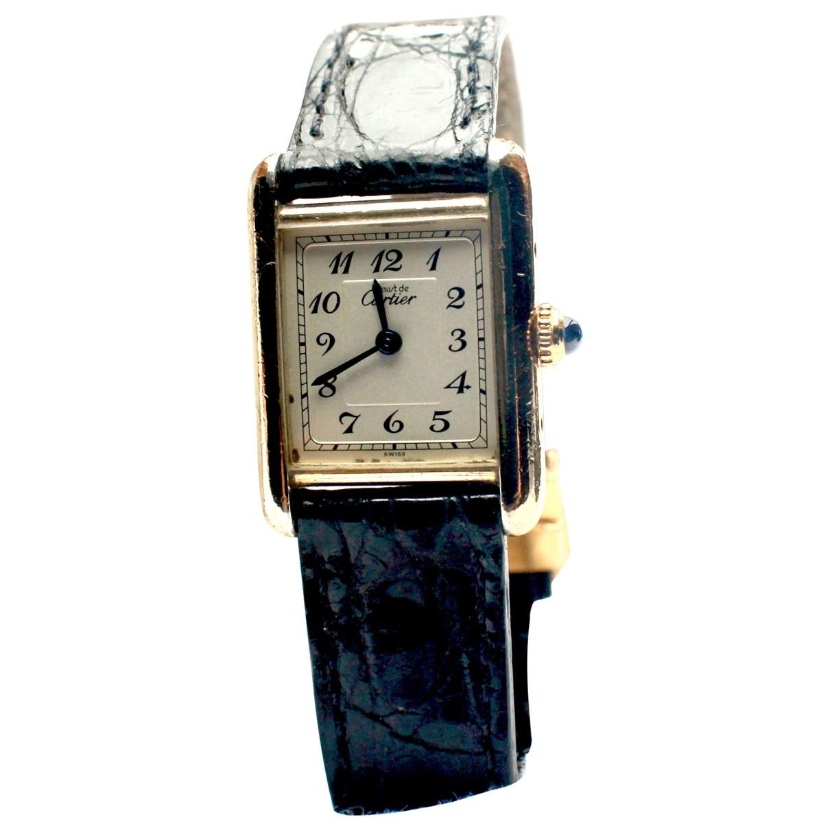 Cartier Tank Must Uhr in  Gold Vergoldet