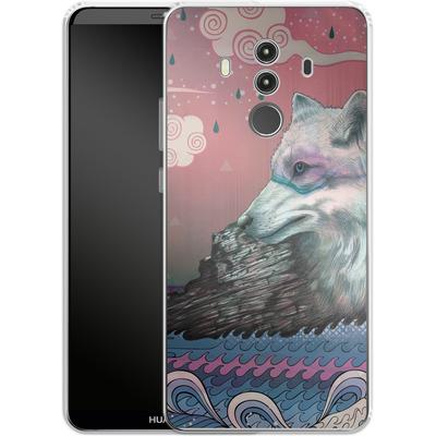 Huawei Mate 10 Pro Silikon Handyhuelle - Lone Wolf von Mat Miller