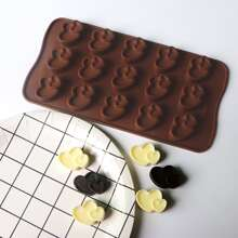 Schokoladeform mit Herzen Design