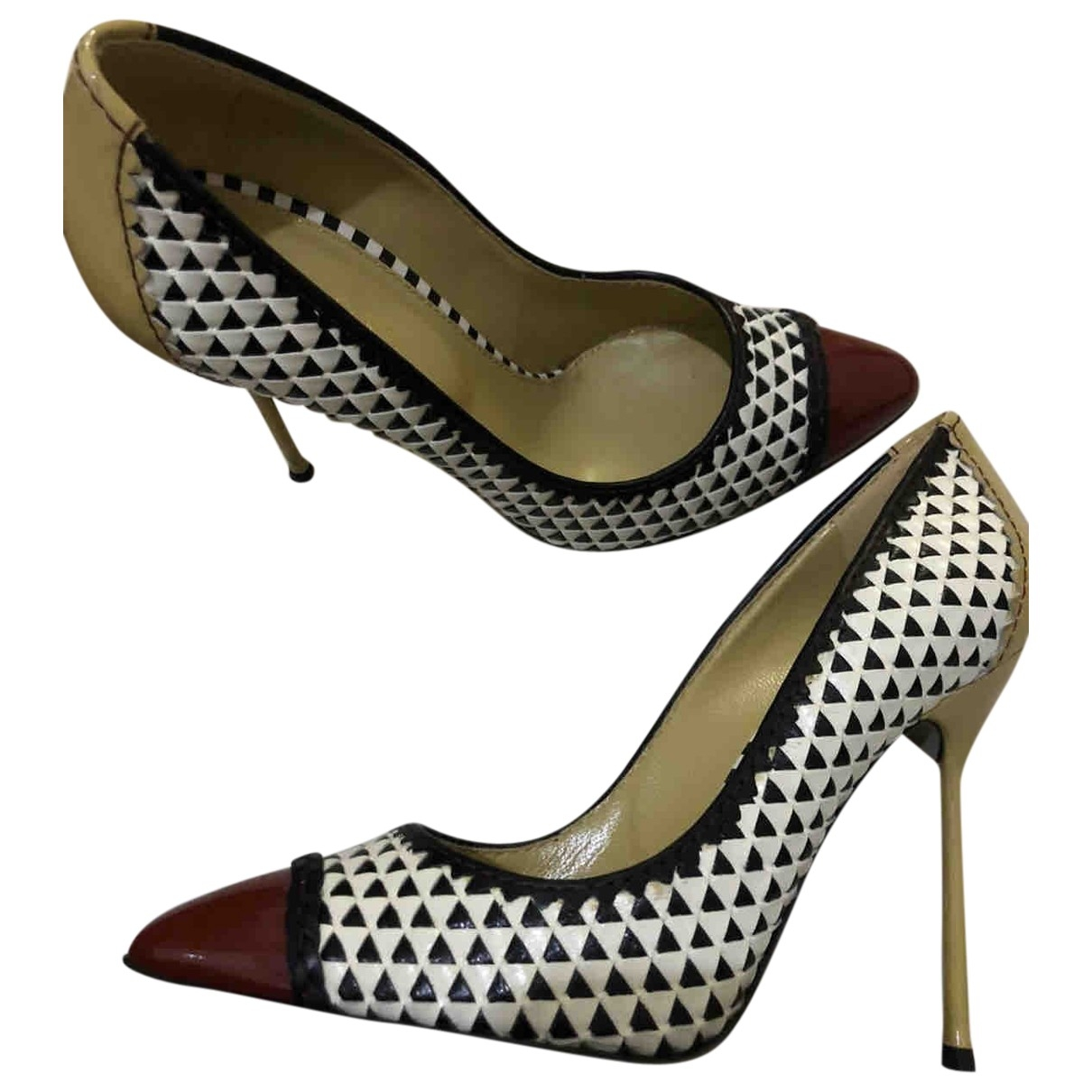 Sergio Rossi \N Multicolour Leather Heels for Women 38 EU