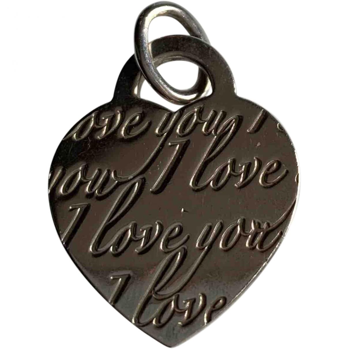 Tiffany & Co \N Silver Silver pendant for Women \N