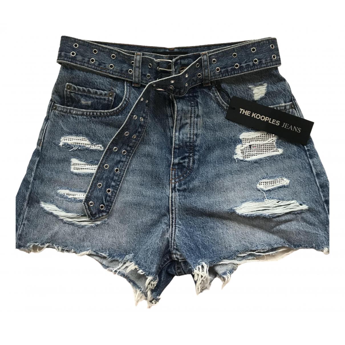 The Kooples Fall Winter 2019 Shorts in  Blau Denim - Jeans