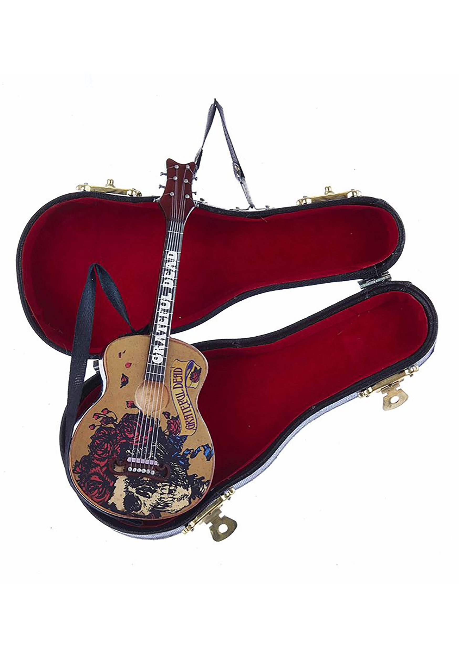 Grateful Dead Guitar in Case Ornament