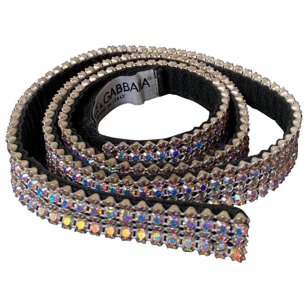 Dolce & Gabbana - Ceinture   pour femme en metal - multicolore